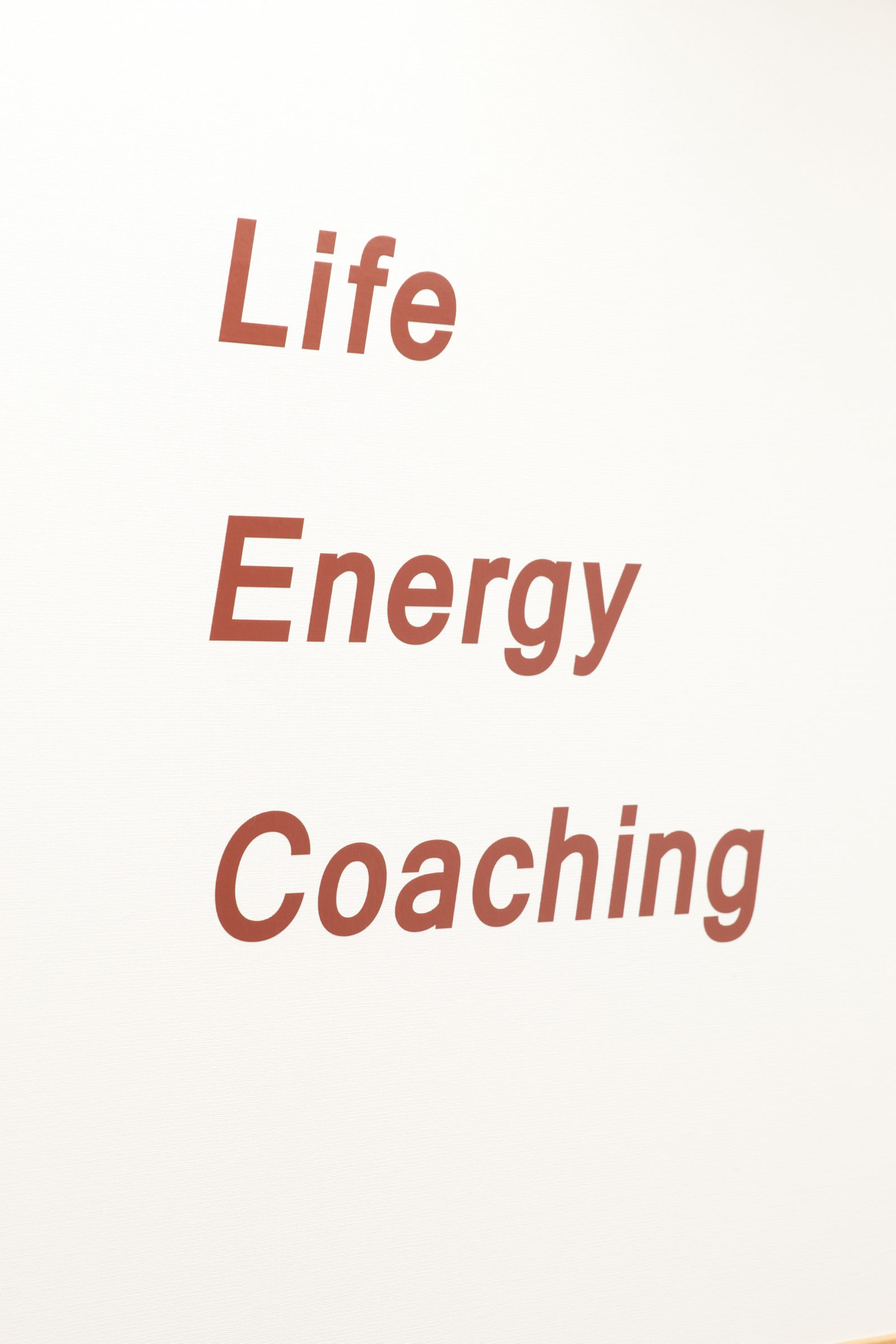 Life Energy Coaching