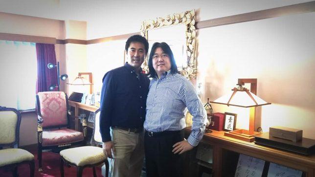 LECライフエネルギーコーチングを継続中の本田健氏と三上隆之
